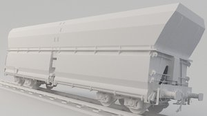 container car cargo 3D model