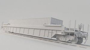 3D container train dttx