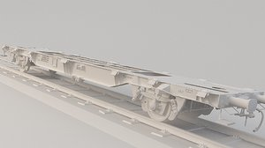 train platform lgnss 3D