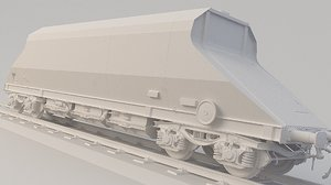 container train jag 3D model