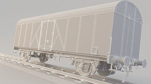 train games 3D model