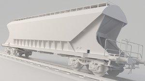 3D uagpps hopper model
