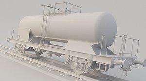 3D train tank tanker