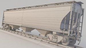 train ncux 3D