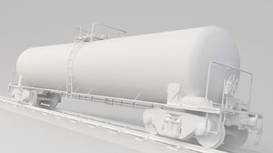 train tank oil 3D model