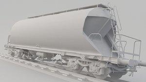 train tank tanker 3D