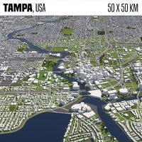 Tampa 50x50km