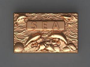 3D sea mold hand