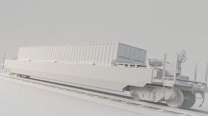 container dttx 3D model