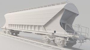 3D train uagpps model
