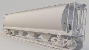 3D train skpx sknx model