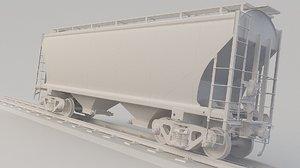 train ncux 3D model