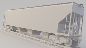 3D train mobile model