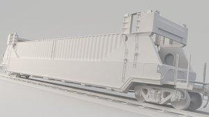 container train wagon model
