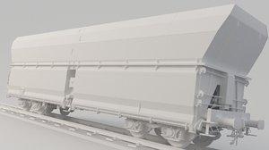 coal train 3D model