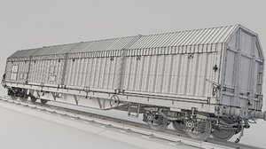 container train sis 3D