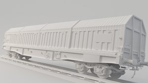 container train 3D model