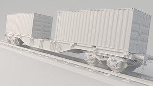 container train sgs 3D model