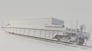 container train dttx 3D