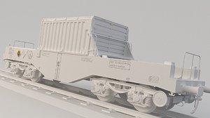3D train nuclear model