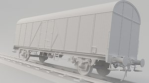 box train boxcar model
