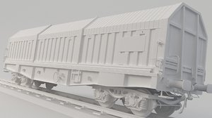 3D container train simms