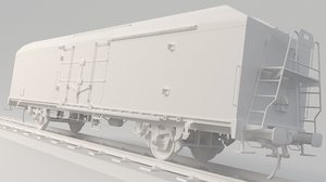 3D train interfrigo