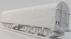 3D container train shimmns