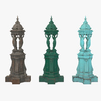 3D wallace fountain model