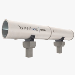 hyperloop tube 3D