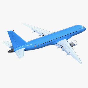 3D commercial airliner generic air