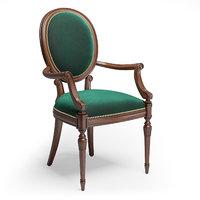 sevensedie small armchair olga model