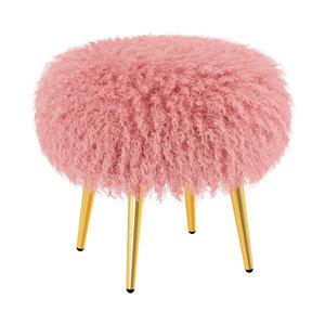 3D mongolian lamb stool