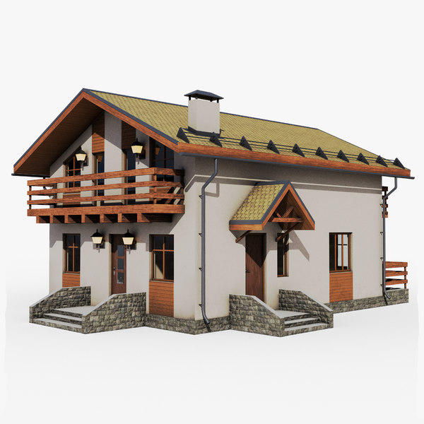 gameready cottage 2 3D model