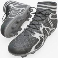 3D soccer shoe