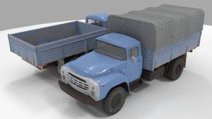 zil-130 3D model