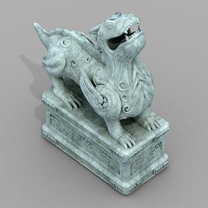 decoration - animal beast 3D model