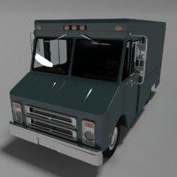 3D step van model