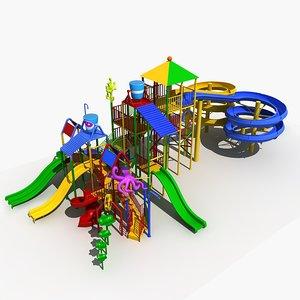 amusement park 11 3D model