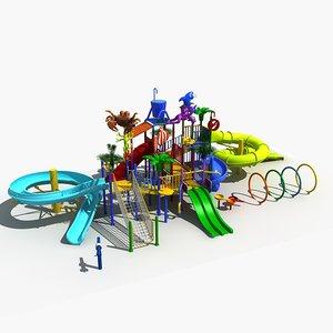 3D amusement park 12 model