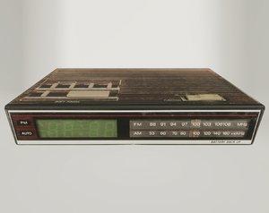 3D ready retro alarm model