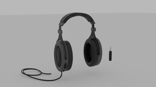 hard headset 3D