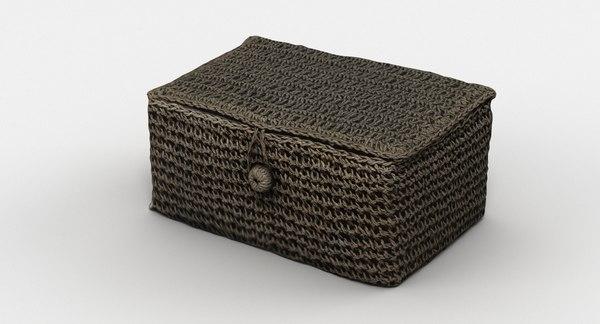 decorative box 3D model
