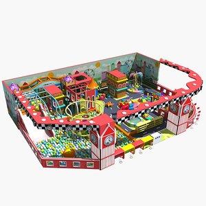 amusement park 15 3D model
