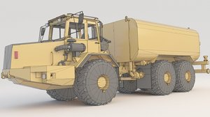 3D dump truck articulated a30c