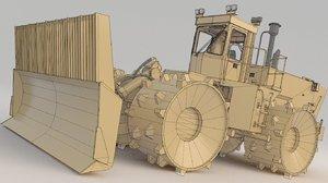 road rollers compactor 836 3D model