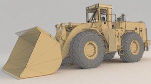 wheel loader 988f 1 3D model