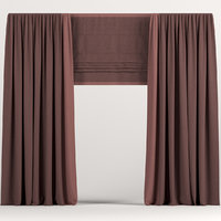 curtains drapes 3D