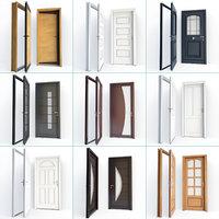 set doors 01 3D