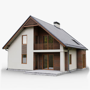 gameready cottage 3 3D model